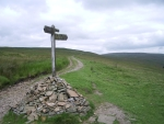 Pennine way footpath